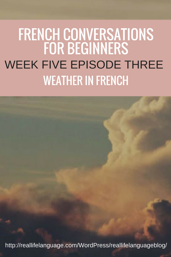 French Conversations for Beginners week two episode three even more getting around in french #learnfrench #learntospeakfrench