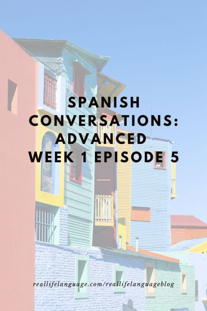Learn Spanish Listening to Native Speakers