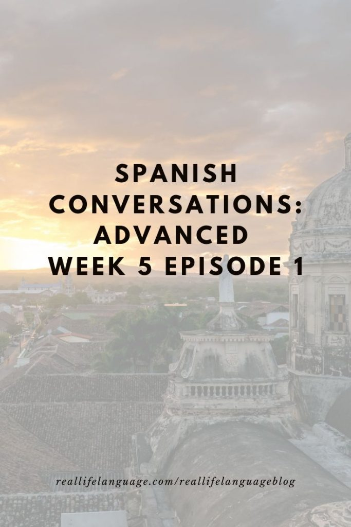 advanced spanish podcast