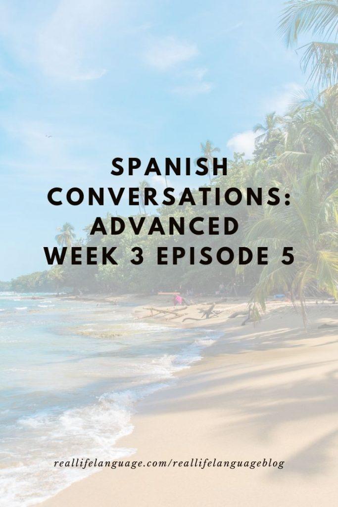 Learn REAL Spanish
