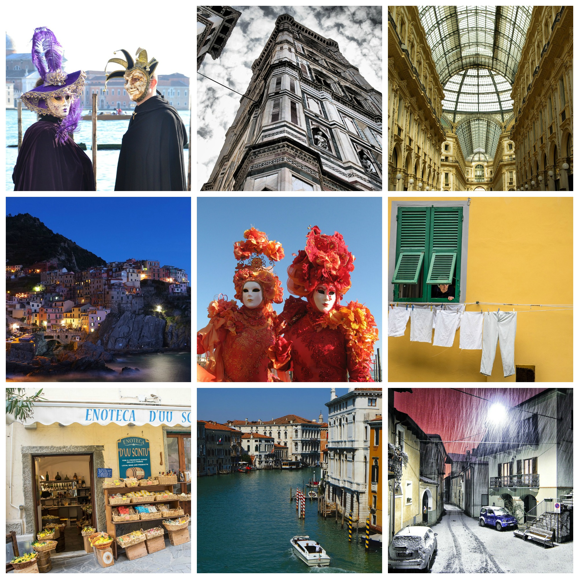 Themes for Beginners of Italian and Travel – Real Life Language